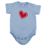 Click here for more information about Le Bonheur Onesie - Light Blue