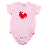 Click here for more information about Le Bonheur Onesie - Pink