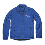 Click here for more information about Royal Blue Full-Zip Fleece
