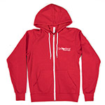 Click here for more information about Red Full-Zip Hoodie