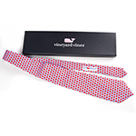 Click here for more information about Vineyard Vines Le Bonheur Heart Ties - Light Blue