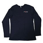 Click here for more information about Ladies navy long sleeve shirt