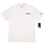 Click here for more information about Nike Polo shirt - White