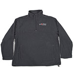 Click here for more information about Gray  1/4 ZIP MICRO FLEECE jacket