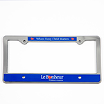 Click here for more information about Rear License Plate Frame