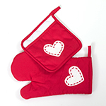 Click here for more information about Pot Holder and Oven Mitt set
