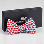 Click here for more information about Vineyard Vines Le Bonheur Heart Bow Ties - Boys