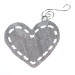 Click here for more information about Le Bonheur Heart Christmas Ornament