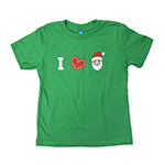 Click here for more information about I Heart Santa T-shirt - Toddler Sizes