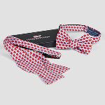 Click here for more information about Vineyard Vines Le Bonheur Heart Bow Ties - Men