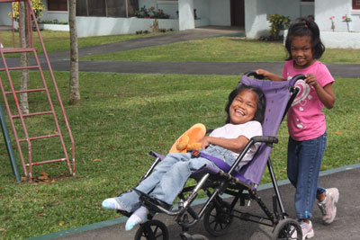Click here for more information about Support for a Child with Disabilities