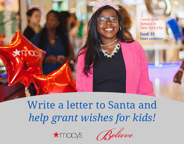 Write a letter to Santa and grant wishes for kids.