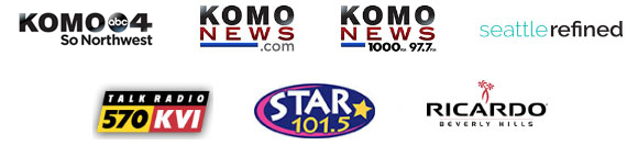 KOMO 4 ABC, komonews.com, KOMO Newsradio, Seattle Refined, Star 101.5, KVI Talk Radio