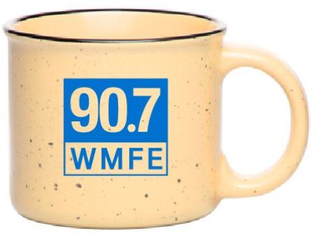 13 oz Camper Coffee Mug with 90.7 WMFE Logo