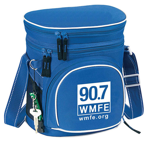 Lunch Cooler with 90.7 WMFE Logo