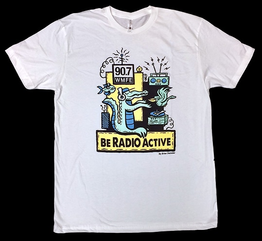 Radio Active T-shirt 2