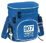 Click here for more information about Lunch Cooler with 90.7 WMFE Logo-Blue