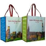 Click here for more information about A Prairie Home Companion Recycled Grocery Tote-Set of 2