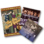COMBO: DVD: The Big Band Years + 4 CD Bundle: Those Sentimental Years (3 CD Set) + CD: The Only Big Band CD You'll Ever Need