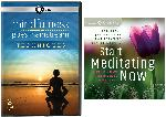 Mindfulness Techniques COMBO: 3 DVD Set: Mindfulness Techniques + CD: Meditating Now