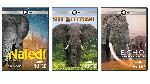 COMBO: 3 DVDs: Naledi: One Little Elephant + Soul of the Elephant + Echo: An Elephant to Remember