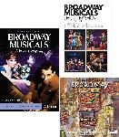 I LOVE BROADWAY MUSICALS PACKAGE:  CD: Broadway's Greatest Hits + 2 DVD Set: GP: Broadway Musicals: A Jewish Legacy + BOOK: broadway Musicals Show by Show 8th Ed.