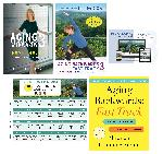 DVD: Aging Backwards DVD + 4 DVD Workout Collection + 30 Day Workout Calendar + 30 Day Subscription to Essentrics TV + BOOK: Aging Backwards Fast Track (hardcover)
