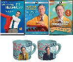 Mr Rogers Mug + DVD: Won't You Be My Neighbor + DVD: It's You I Like + 4 DVD Set: Would You Be Mine Collection