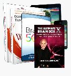 Ultimate BrainFit 50 Package: Brain Warrior's Way Book + DVD: BrainFit: 50 Ways to Grown Your Brain + Poster + Cookbook + Virtual Course + BrainFit Life Membership