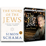 COMBO: 2 DVD Set: Simon Schama: The Story of the Jews + BOOK: Simon Schama: Story of the Jews: Finding the Words 1000 BC-1492 AD