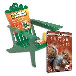 DVD: Nature: A Squirrel's Guide to Success + Squirrel Feeder