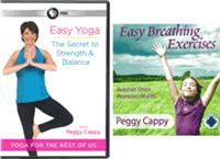 COMBO: CD: Easy Breathing Exercises + DVD: Easy Yoga: the Secret to Strength and Balance